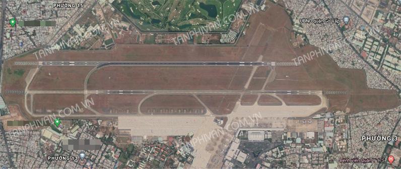 Sân bay Tân Sơn Nhất maps